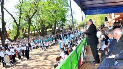 El Gobernador de Corrientesratificó su compromiso de continuar fortaleciendo a los Municipios
