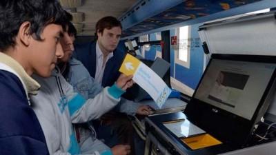 Presentan en Legislatura Santafesina el voto electrónico que utilizan en Salta