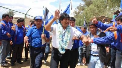 Encuesta revela 46 puntos de ventaja para Evo Morales