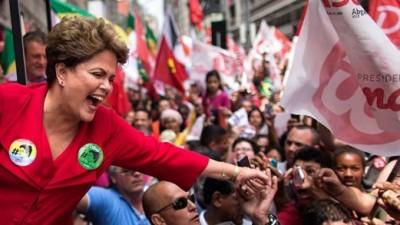 Rousseff fue reelecta y gobernará Brasil hasta 2019