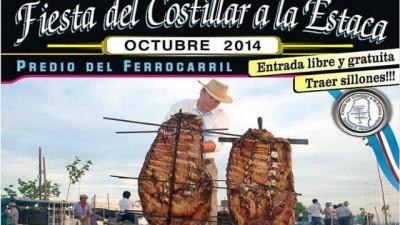 """""""Fiesta del Costillar a la Estaca"""", 11 de octubre en Tabossi"""