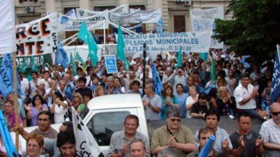 El conflicto salarial sacude a los municipios de la Provincia de Buenos Aires