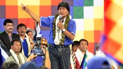 Evo Morales arrasa en los sondeos y seguirá gobernando hasta 2020