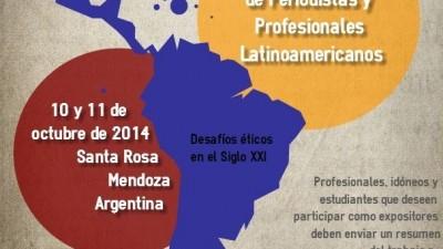 Congreso Turístico de Periodistas y Profesionales Latinoamericanos, 10 y 11 de octubre en Santa Rosa, Mendoza