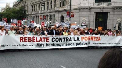 España: Cumbre Social pide que Madrid debata sobre pobreza y desigualdad