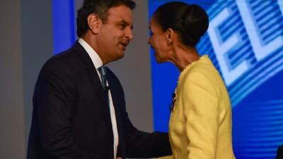 Marina Silva apoyará a Aécio Neves contra Dilma
