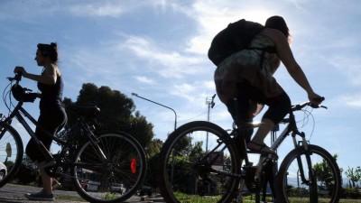 Bicing entre Godoy Cruz y Capital para reducir el uso del auto
