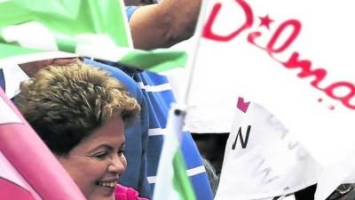 Dilma Rousseff se consolida y no habría segunda vuelta en Brasil