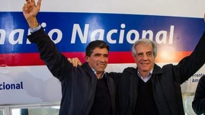 En la recta final, candidatos buscan votos clave en Uruguay