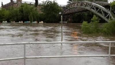 Alerta Roja: El Río Luján sigue creciendo y alcalde prevé una inundación similar a la del 2012