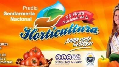 20ª Fiesta Nacional de la Horticultura, del 6 al 9 de noviembre, Santa Lucía