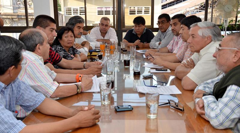 En la sede del PJ, intendentes y comisionados municipales justicialistas discutieron temas inherentes a su área, con implicancia en una eventual reforma de la Constitución provincial.