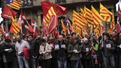 Simbólico Sí a la independencia catalana