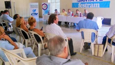 Santa Fe: Reunión clave en Festram