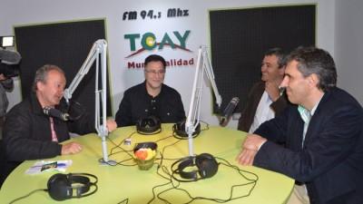 Toay inauguró su radio municipal