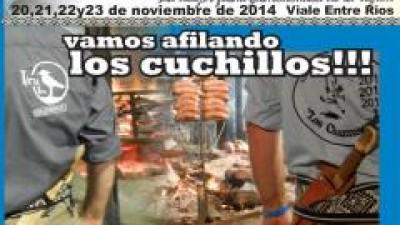 Fiesta Nacional del Asado con Cuero en Viale desde el 20 al 23 de noviembre