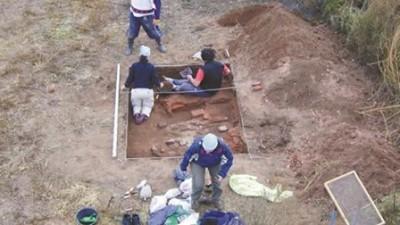 En La Pampa descubren un pueblo que quedó bajo la soja
