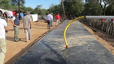 Formosa elogiada por su sistema de almacenamiento y conservación de agua