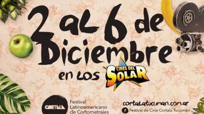 Festival latinoamericano de cortos en Tucumán del 2 al 6 de diciembre