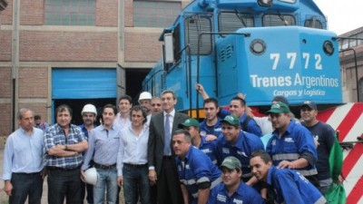 Randazzo anunció inversión ferroviaria en Córdoba