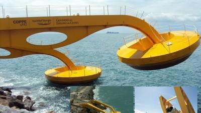 Brasil ya obtiene electricidad de las olas