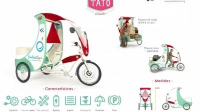 Presentaron una tricicleta eléctrica para los cartoneros de Bahía Blanca