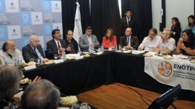 Capitanich transmitió la decisión de la Presidenta de impulsar la ley de agricultura familiar y de otorgar presupuesto al área