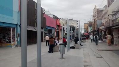 Peatonales de Salta: vuelven las farolas y los bancos tendrán madera