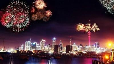 Comenzaron los festejos por la llegada del 2015 en distintas partes del mundo