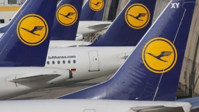 Una aerolínea alemana debió cancelar 1.350 vuelos por una nueva huelga