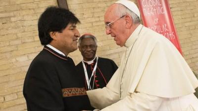 El Papa se interiorizó por la salida al mar de Bolivia