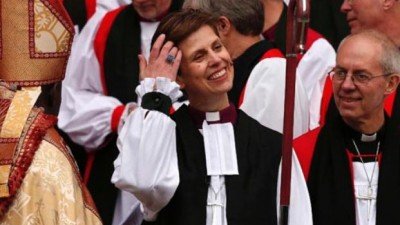 La Iglesia de Inglaterra ordenó su primera obispa desde su creación