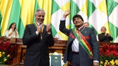 Evo Morales juró su tercer mandato consecutivo como presidente