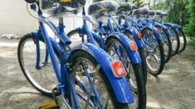Bicicletas a préstamo temporal en el Centro Cívico de Río Cuarto
