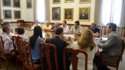 El Ministro de Gobierno de Entre Ríos se reunió con Intendentes del foro de la UCR