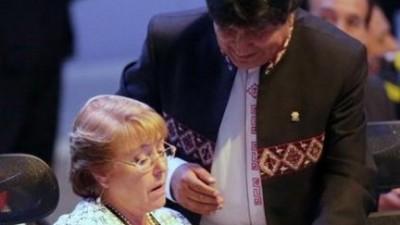 Los presidentes de Chile y Bolivia hablaron en la Celac sobre la salida al mar