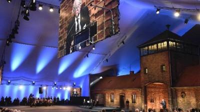 Sobrevivientes de Auschwitz piden que no se olvide el horror del holocausto
