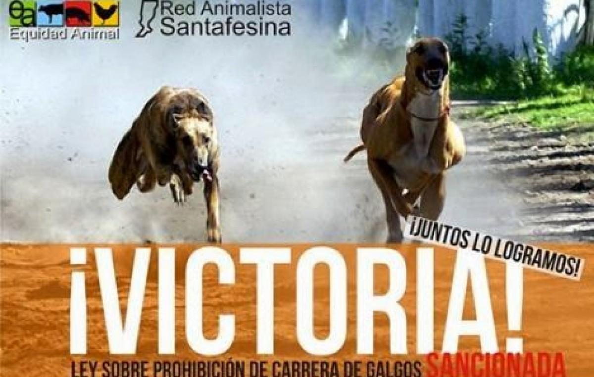 Ya rige en la provincia de Santa Fe la ley que prohíbe las carreras de perros