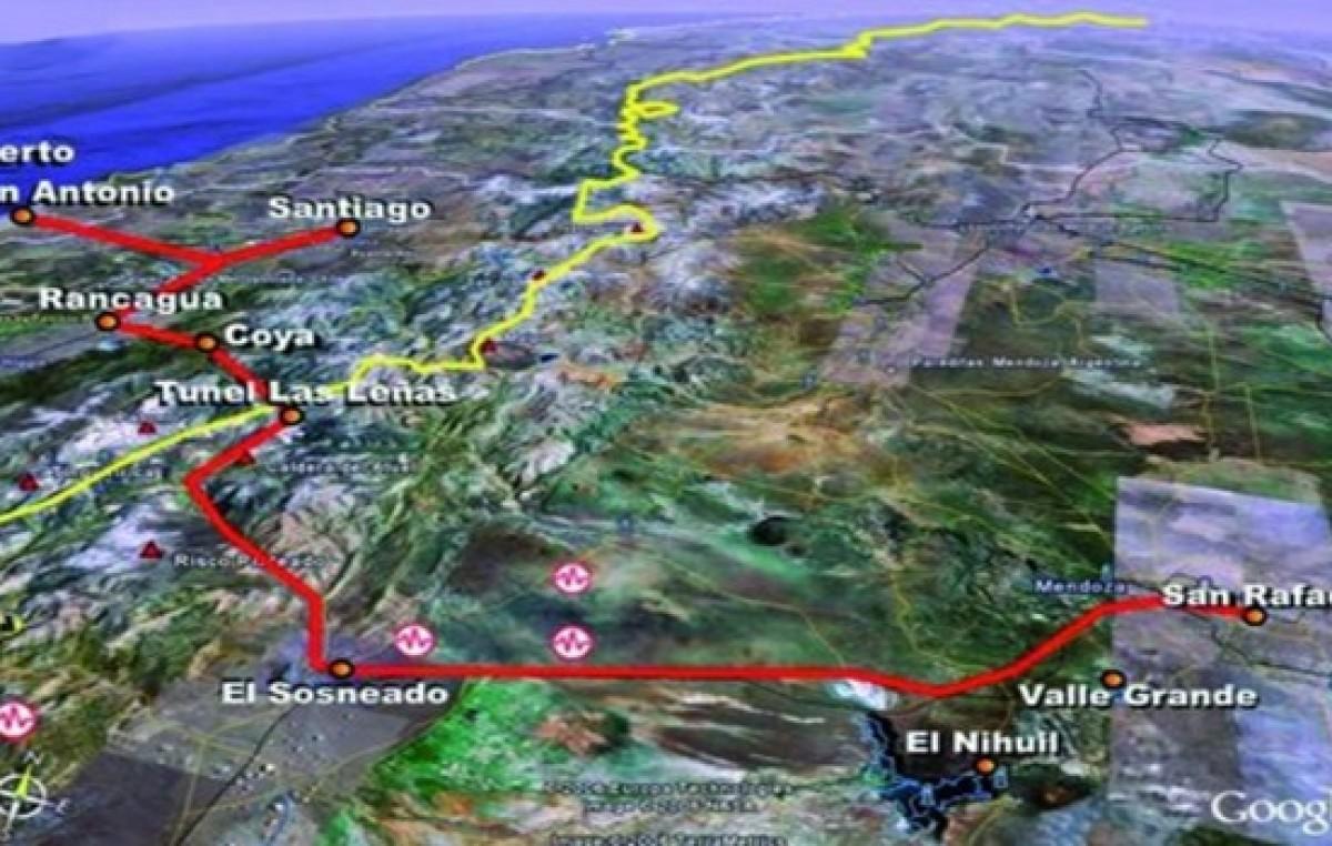 Se construirá otro túnel internacional que conectará a Chile con Mendoza por el sur