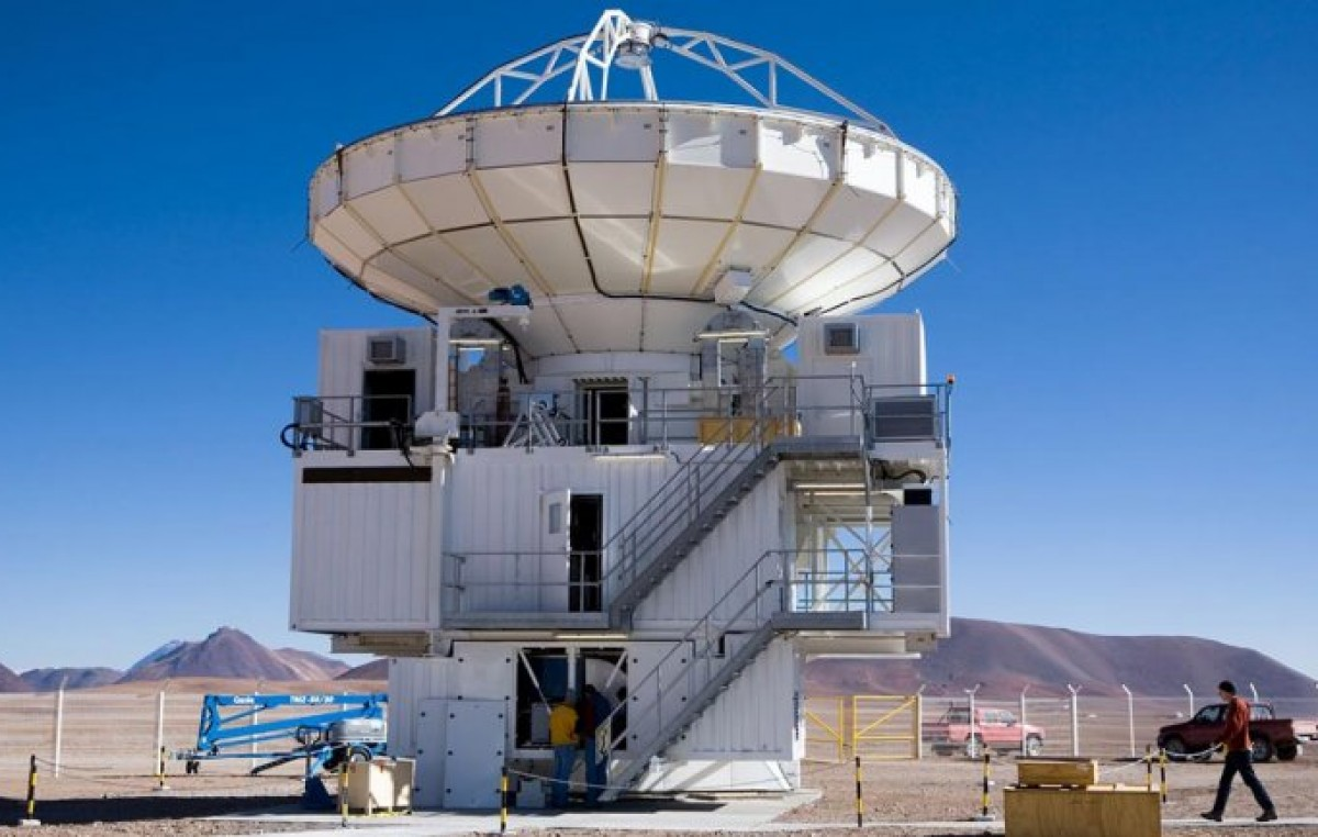 Avances en la instalación de un radiotelescopio en la Puna salteña