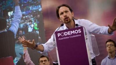 Podemos sigue a la cabeza en intención de voto en España