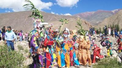 Inicio del carnaval en Jujuy