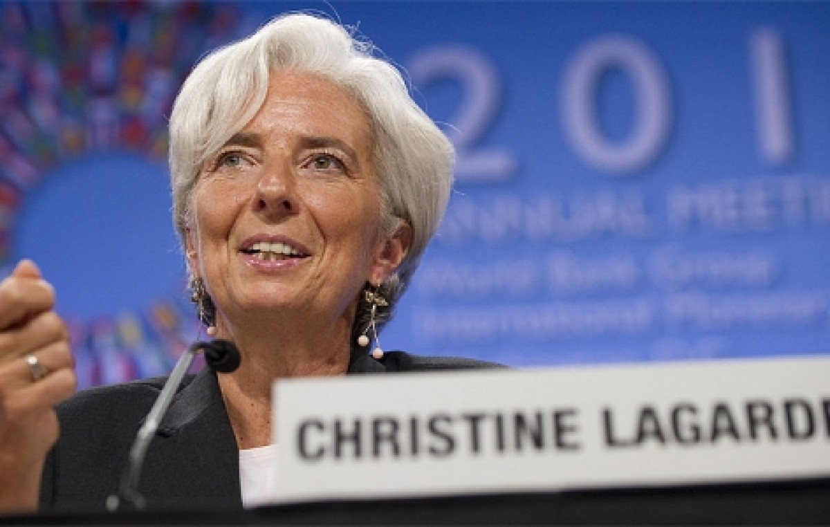 La directora gerente del FMI, pide más oportunidad laboral para las mujeres
