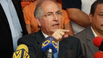 Arrestaron al alcalde opositor de Caracas