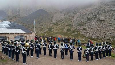 Cabalgata en homenaje al Cruce de Los Andes