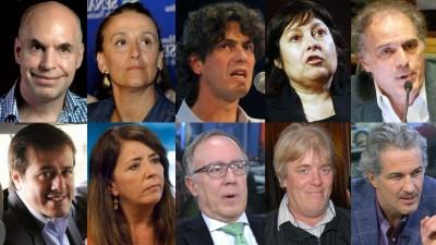 Más de 20 precandidatos a jefe de Gobierno en las elecciones porteñas