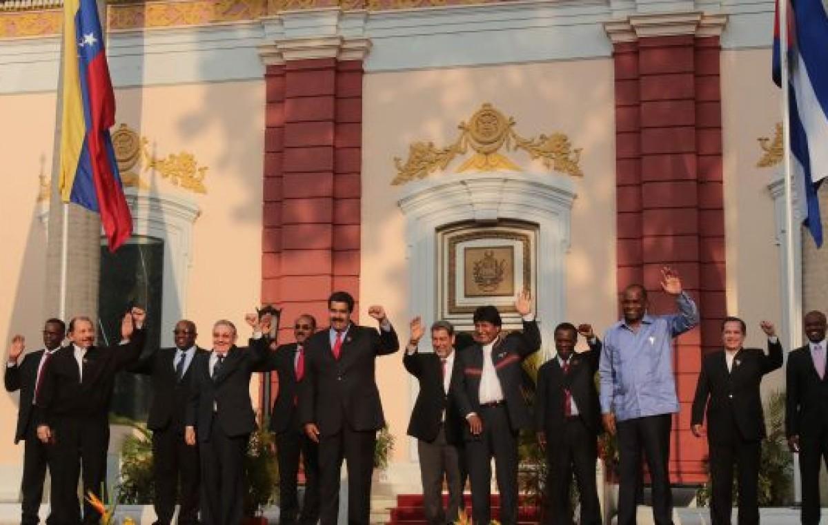 ALBA reafirmó su apoyo a Venezuela y creó un «grupo de facilitadores» para mediar con EEUU