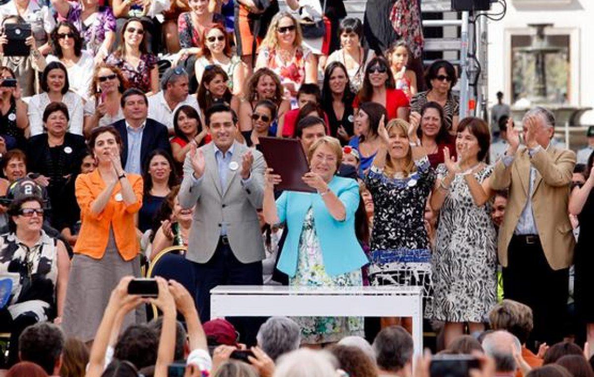 Gobierno chileno crea el Ministerio para la Mujer e Igualdad de Género