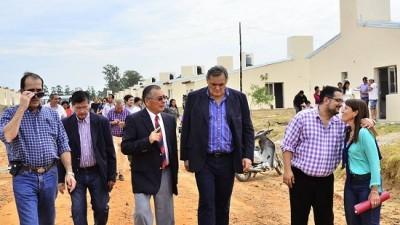 Entregaron 40 nuevas viviendas en Federación