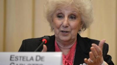 En la ONU, Estela de Carlotto contó su experiencia en la lucha contra la impunidad